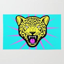 Wild Leopard Star Rug