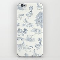 lotr iPhone & iPod Skins featuring Shire Toile by Jackie Sullivan