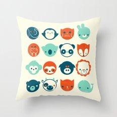 Menagerie Throw Pillow