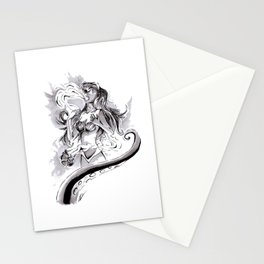 Poor Unfortunate Soul Inktober Drawing Stationery Cards