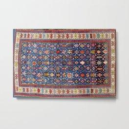 Daghestan East Caucasus  Antique Rug Print Metal Print