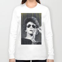 lou reed Long Sleeve T-shirts featuring Lou Reed by Vikki Sin