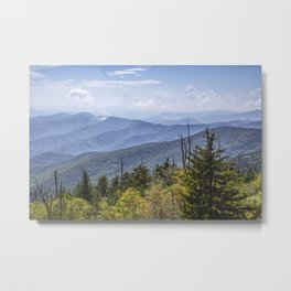 View from Clingman's Dome 01 Metal Print