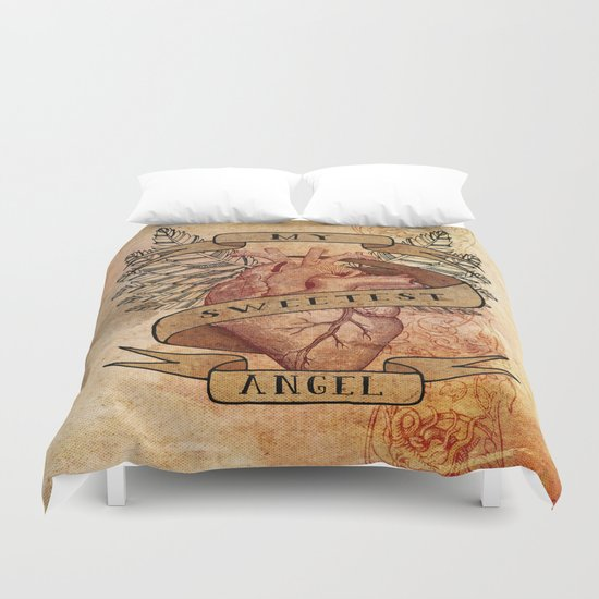 My Sweetest Angel Duvet Cover
