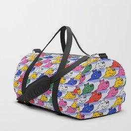Hippos pattern no2 Duffle Bag