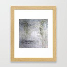"""1234-1 green elegance wall"" Framed Art Print"