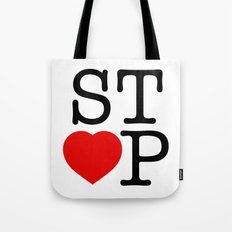 Stop In The Name of Love #2 t-shirt canvas print Tote Bag