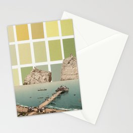 square sky Stationery Cards