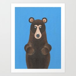 Bear Claws Art Print