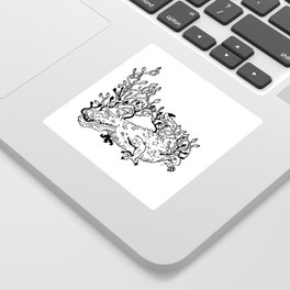 Crocoflora Sticker