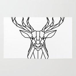 deer vector statue Rug