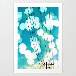 Electrical Enlightment Art Print