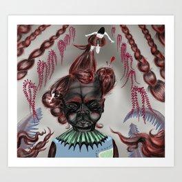 Rapunxel Art Print