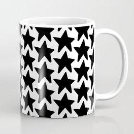 All the Stars in the Sky Black+White Coffee Mug