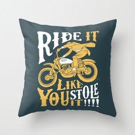 stole it Throw Pillow