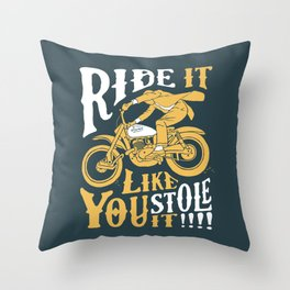 stole it Throw Pillow