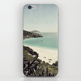 discover. {Arraial do Cabo iPhone Skin