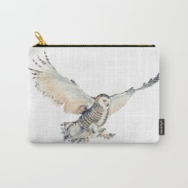 Arctic Snowy Owl Carry-All Pouch