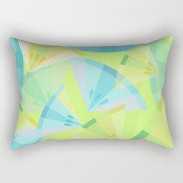 Citrus Blue Rectangular Pillow
