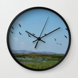 Is time to fly Wall Clock