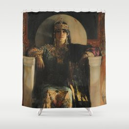 The Empress Theodora, Jean-Joseph Benjamin-Constant Shower Curtain
