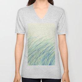 Blue grass for Cindy Unisex V-Neck
