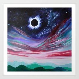 Eclipse III Art Print