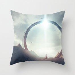Gate Throw Pillow