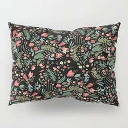 Floral Patern Pillow Sham
