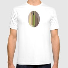 Pear MEDIUM White Mens Fitted Tee