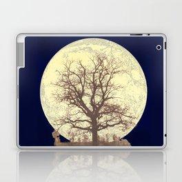 Under a Harvest Moon Laptop & iPad Skin