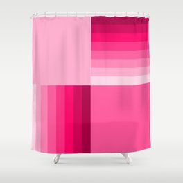 pink home decor pattern Shower Curtain