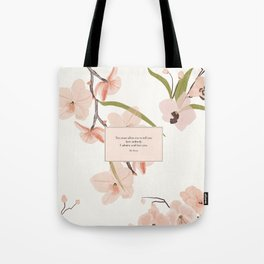 You must allow me...Mr. Darcy. Pride and Prejudice. Tote Bag