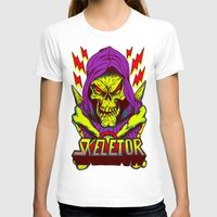 skeletor T-shirts featuring skeletor by Vincent Trinidad