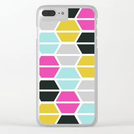 Tile Me Up #2 Clear iPhone Case