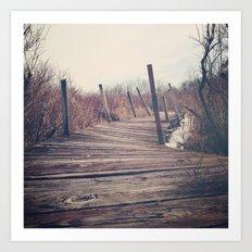 Wanderlust - Roam Wherever the Path May Lead Art Print