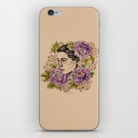bjork iPhone & iPod Skins featuring Bjork by alxbngala
