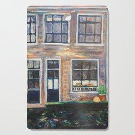 Canal Delft, Holland Cutting Board