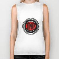 hip hop Biker Tanks featuring HIP HOP  by Robleedesigns