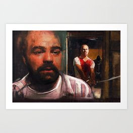 Escape From Sodom - Butch And Zed - Pulp Fiction Art Print