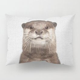 Otter - Colorful Pillow Sham