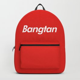 BTS Bangtan Box Logo Backpack