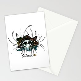 """La Nunca (She, the Never"") Stationery Cards"