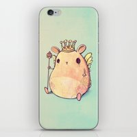 prince iPhone & iPod Skins featuring Prince Angel of Bunnyland by Mike Koubou