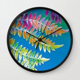 Azure Daydream Wall Clock