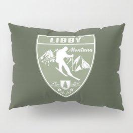 Ski Libby Montana Pillow Sham