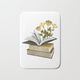 floral reading iv Bath Mat