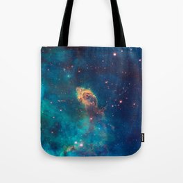 Space Nebula, A View of Astronomy, Stars, Galaxy, and Outer space  Tote Bag