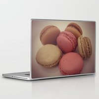 macaroon Laptop & iPad Skins featuring macaroon by  Alexia Miles photography