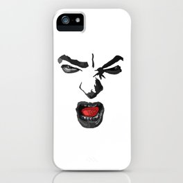Plutchik Series : Anger iPhone Case